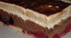 Nepečený pudingovo-tvarohový zákusok   Báječné recepty Pudding Desserts, Russian Desserts, Easy Cake Decorating, Cake & Co, Creative Cakes, I Foods, Cake Recipes, Deserts, Food And Drink