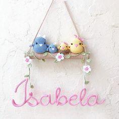 Crochet Home, Crochet Crafts, Sewing Crafts, Crochet Birds, Cute Crochet, Newborn Crochet, Crochet Baby, Crochet Diagram, Crochet Patterns