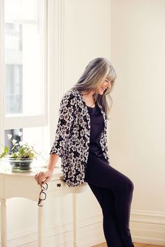 Florals are timeless and will look good all the time, however they are particularly charming during the transeasonal period. Their classic nature ensures your outfit has effortless style and will keep your look lively.