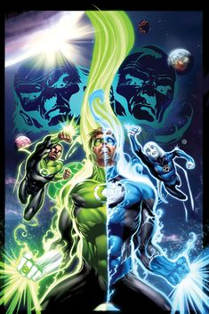 The Best Green Lantern Artwork | bighandesign blog