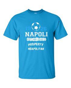 La tua Squadra del Cuore è il Napoli ? Ti senti un vero Napoletano? Allora questa maglietta è per te ! Per comprare la tua clicca qui    Edizione Limitata non in vendita nei Negozi al dettaglio