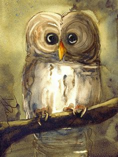 'Redbird Cottage Owl' by Dawn Derman