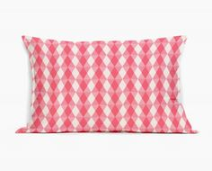 Coussin Design Kaleidoscope Rose - coussin rectangulaire