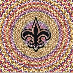 Is It Moving? New Orleans Saints Baby