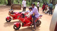 Pratima Aggarwal-uber cool mom...thats me on a cool bike ......