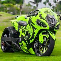 Wooden Bicycle, Custom Sport Bikes, Bicycle Painting, Bike Parking, Hot Bikes, Biker Chick, Super Bikes, Art Design, Bike Life