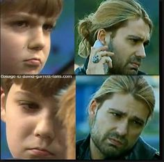 Still the same expression, how sweet!