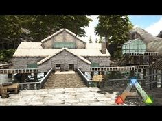Genesis is coming in January for ARK: Survival Evolved. On this channel, you will see the most mind blowing base buildings ever when Genesis goes live. Ark Survival Evolved Bases, Game Ark, Base Building, Beauty Base, Minecraft Crafts, Medieval Castle, Dinosaurs, Awesome Stuff, Beautiful Homes