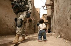 """Afghanistan and Iraq: Photographs by War Correspondent Michael Kamber-- Imagine if this was your """"history"""" from the womb onward!"""