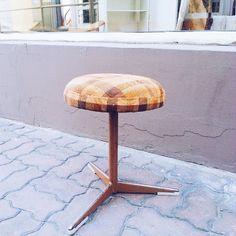 One - legged stool Obrotowy :) #vintage #interiors #industrial #design #loft #retro #vintageshop #sklepvintage #poznan #vintagestyle #brutfurniture #junkstyledesign #stool #hocker #wnętrza #old #vscocam #taboret #stołek #wyposazeniewnetrz #starocie #brocante