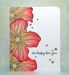 card 008 by Disp6194, via Flickr Hero Arts flower