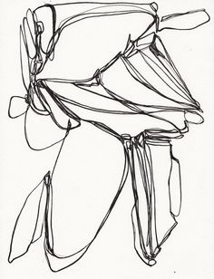 Original Ink Drawing  and the wind carried by SarahIntemann