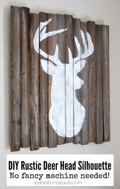 Not necessarily a deer fan, but I like the look of this for something else.