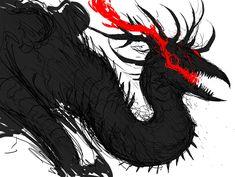 Shadow Monster, Monster Art, Monster Concept Art, Fantasy Monster, Mythical Creatures Art, Fantasy Creatures, Shadow Creatures, Fantasy Beasts, Demon Art