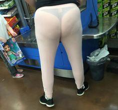 Mom Wears White to Walmart