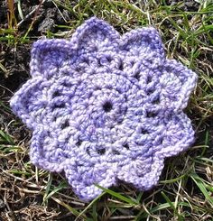 Nine Pointed Star - Kristin Dorman (http://) - free crochet pattern