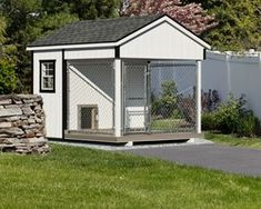 Traditional Outdoor Dog Kennels from The Dog Kennel Collection : Traditional Ou. Traditional Outdoor Dog Kennels from The Dog Kennel Collection : Traditional Outdoor Dog Kennels f Custom Dog Kennel, Wooden Dog Kennels, Dog Kennel Designs, Diy Dog Kennel, Kennel Ideas, Dog Kennels For Sale, Large Dog Crate, Large Dogs, Kennel Training A Dog