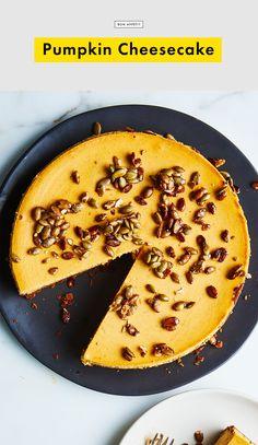 Pumpkin Cheesecake Recipe | Bon Appetit