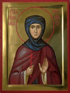 St. Eugenia of Rome by Vladimir Guk