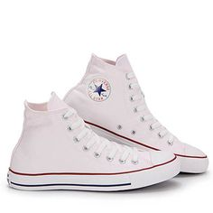 Tênis Casual Converse All Star As Core Hi New - 33 ao 44 - Branco