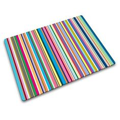 Multi coloured thin stripes worktop saver - Chopping boards & worktop savers - Cookware - Home & furniture -