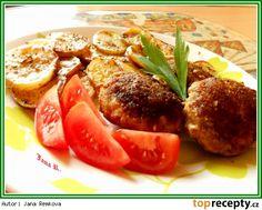 Kedlubnové karbenátky Eggplant, Baked Potato, Potatoes, Beef, Chicken, Baking, Ethnic Recipes, Food, Meat