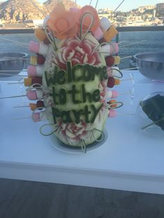 At Breathless Cabo San Lucas, a fondue station is one of the many dessert options for your destination wedding reception! #partytime
