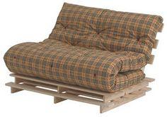 1000+ ideas about Pallet Futon on Pinterest  Futon Cushions, Futon ...