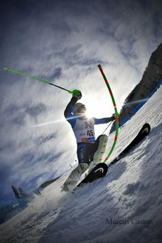 US Ski Team's Robby Kelly in Vail, by Marcus Caston