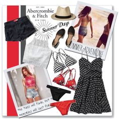 The A&F Summer Getaway Giveaway: Contest Entry by fortyandlovingit on Polyvore featuring moda, Abercrombie & Fitch, contestentry, polyvoreeditorial, abercrombieandfitch and summer2015