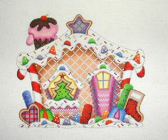 COLLECTION OF DESIGNS - GINGERBREAD HOUSE 2