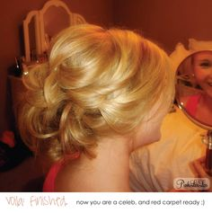 Confessions of a 20 Something: messy, twisted updo- step by step how-to