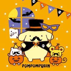 Pom Pom Purin #HappyHalloween ヾ(@⌒ー⌒@)ノ