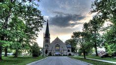 Sunset Shot at St. Andrew's Church - Fergus, Ontario