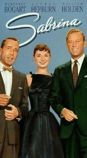 Sabrina, 1954, Humphrey Bogart, Audrey Hepburn, William Holden.