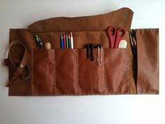 Hey, I found this really awesome Etsy listing at https://www.etsy.com/listing/164706865/artists-tool-baghandstitched-leather