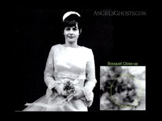 http://www.angelsghosts.com/wedding-bouquet-cherub-face  Angelic face found in a bouquet held by a bridesmaid. Taken in the 1960s...