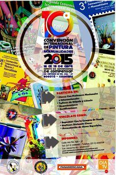 Bernabela tiene el gusto de invitarlos a la Décima Convención de Pintura y Manualidades los días 16, 17,18 y 19 de Abril. Tendremos nuevos proyectos, cursos inteligentes y precios de feria. Los Esperamos!!!!