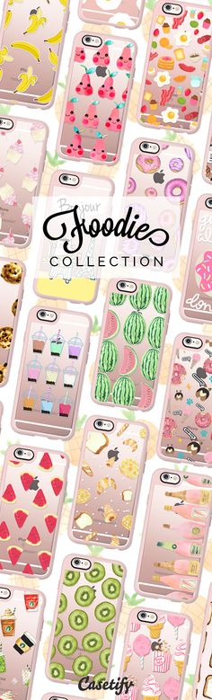 A taste for life.. Tap to check out our latest foodies collection now! https://www.casetify.com/collections/foodie#/ | @casetify