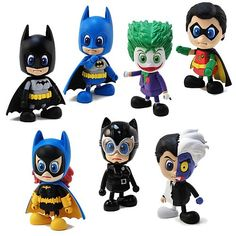 batman mini cosplay collectibles Batman Mini Cosplay Collectible Action Figures