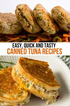 If you're looking for your pantry and wondering what to make, grab a can of tuna and get ready to make your family smile. You can create two delicious canned tuna recipes quickly and easily. Try our recipe for tuna burgers or tuna melts and we think they will become one of your new favorite comfort dishes. #TunaMelt #TunaBurger #TunaRecipes