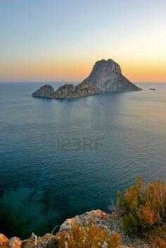 Puesta de sol en Ibiza ,  Es Vendra   Spain