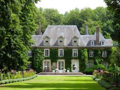 French Manor with Ivy