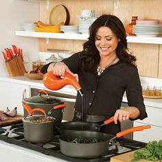Make your cooking easy with the Rachael Ray 2-Piece Cucina Stoneware #Cruet. at #Qbid #auctions.