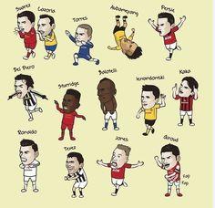 Празднование гола разных игоков #гол #goal #football