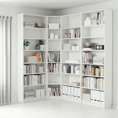 Bookshelves storage billy bookcase white 215 135 x 28 x 237 cm ikea. Ikea Billy Bookcase White, Ikea Bookcase, Ikea Shelves, Billy Bookcases, Narrow Shelves, Shelving Units, Bookcase Organization, Wall Shelves, Floating Shelves