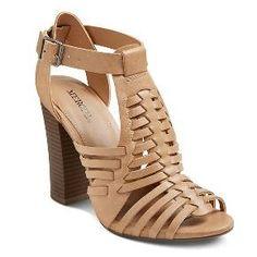 Women's Missi Huarache Sandals - Tan - 8.5 - Merona™ : Target