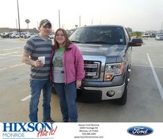 Hixson Ford of Monroe Customer Review  We shopped around a couple of different places but found Scott worked the hardest for  us.    Michael and Karen, https://deliverymaxx.com/DealerReviews.aspx?DealerCode=M553&ReviewId=57042  #Review #DeliveryMAXX #HixsonFordofMonroe