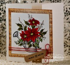 Merry Poinsettia's by JBgreendawn - Cards and Paper Crafts at Splitcoaststampers