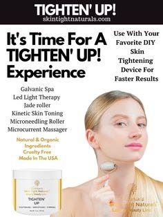 "Luscious New Silky Cream Tightens ""Crepey"" Skin Skin Tightening Lotion, Skin Firming, Crepe Skin, Tighten Loose Skin, Cellulite Remedies, New Skin, Face Skin, Anti Aging Skin Care, Organic Skin Care"
